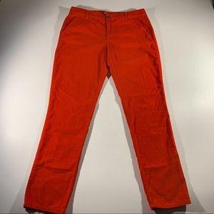 Khakis By Gap Orange Corduroy Sz6